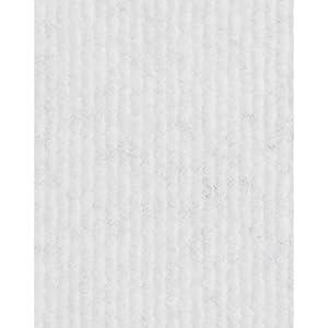 Eventteppich Messeteppich | Rips-Nadelfilz | 200 und 400 cm Breite | weiß | Meterware, 50m Rolle | Größe: 50 x 2m
