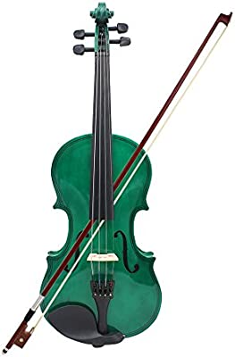 ammoon Violín 4/4 Violín Tilo Cuerdas de Acero Eje Arco Instrumento de Cuerda para Principiantes de los Amantes de la Música