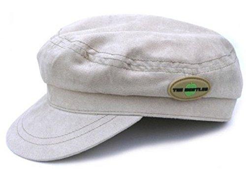 Générique The Beatles Moleskin Hat Beige Help Apple Band Logo Officiel Retro