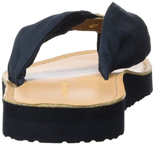 Tommy Hilfiger M1285onica 14d3, Sandales Bout Ouvert Femme Bleu (Midnight 403)