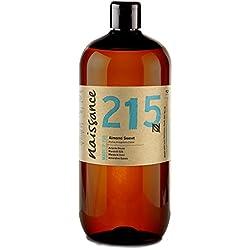 Aceite para masajes de Almendras Dulces - 1 Litro – Vegano, no OGM