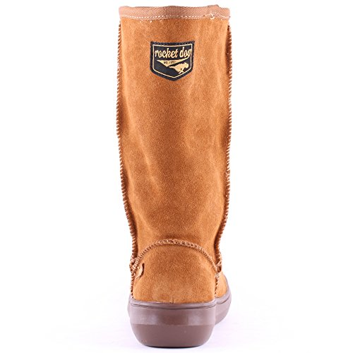 Rocket Dog Sugardaddy Damen High Boots Chestnut
