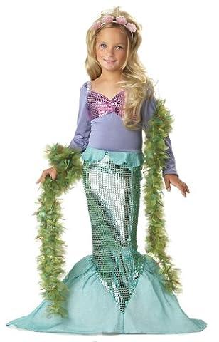 Mermaid Costume - Déguisement Enfant Costume Fille La Petite Sirène