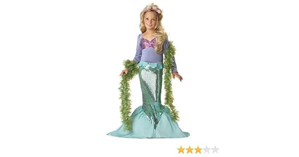 Costume Da Bagno Sirenetta Disney : Costume carnevale halloween da sirenetta ariel favole disney