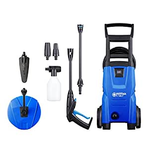Nilfisk C 120 bar Pressure Washer with Patio Cleaner and Soft Brush
