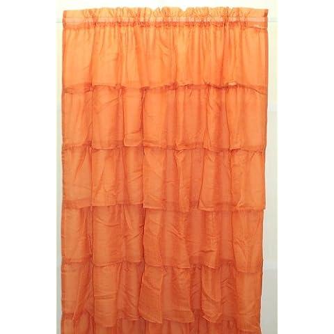 Lorraine Home Fashions Gypsy-Tende per finestra, increspata,