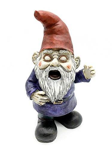 ficiti g150026Zombie The Walking Dead Gnome Garden Statue (Zombie Gnome)