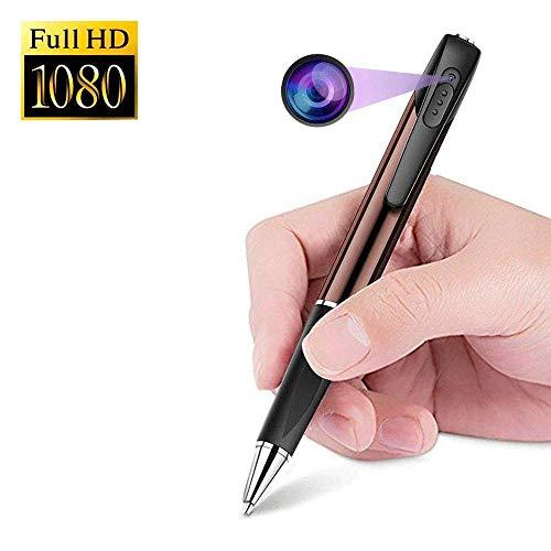 MENRAN Mini Kamera 1080p HD Stift Kamera Versteckte Kugelschreiber Tragbare Kleine Überwachungskamera Mikro Videokamera für die Überwachung Loop-Aufnahme