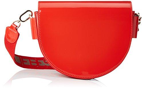 Liebeskind Berlin Damen Mixedbmh8 Venus Umhängetasche, Rot (Liebeskind Red), 6x23x23 cm
