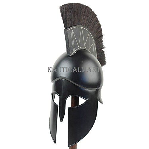 Mittelalter Dark Legionnaire Griechisch Corinthian Helm von nauticalmart