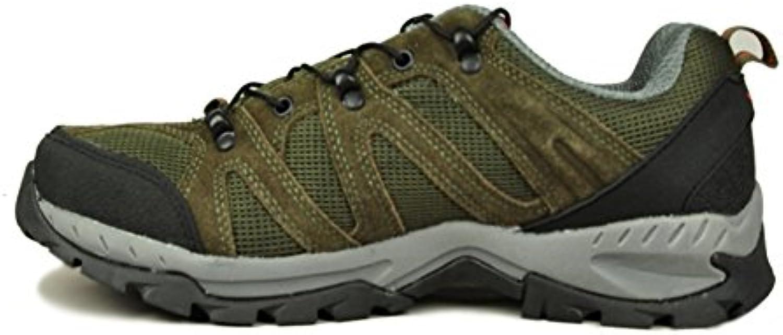 Herren Freizeitschuhe Dress Bergsteigen Herbst Outdoor Dämpfung Sport Schuhe Rutschen Schwarz