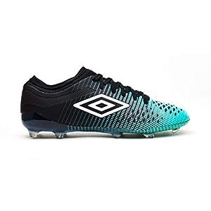 Umbro Velocita IV Pro FG, Botas de fútbol para Hombre, Verde (Black/White/Marine Green Gxv), 40.5 EU