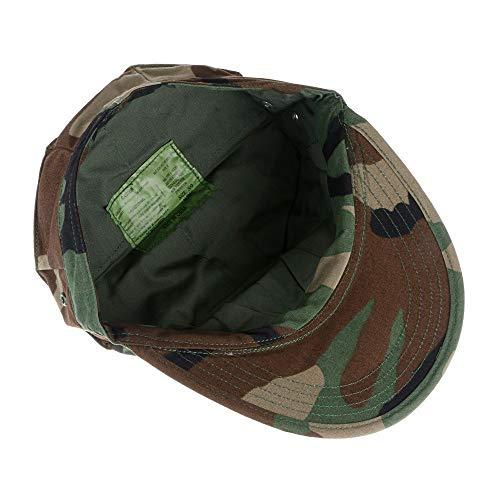 Imagen de lejie camuflaje sombrero militar de los hombres cadete  militar protección uv protección solar luz transpirable cap alternativa