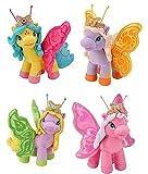 Filly Butterfly Plüsch Alyssa, Bea, Tea und Valentina 25cm (Bea lila - orange gelbe Flügel)