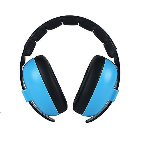 Preisvergleich Produktbild Susulv Schalldichte Ohrenschützer Baby Gehörschutz Noise Cancelling Headphones für Babys für Ohrenschützer (Farbe : Blau)