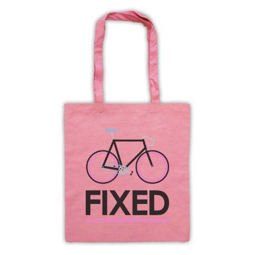Fixed Gear-Borsa per bicicletta, in stile retrò Rosa