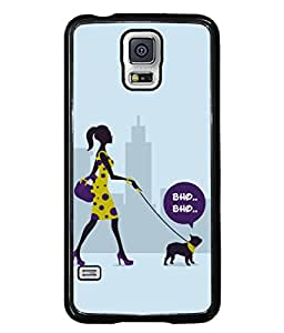 PrintVisa Designer Back Case Cover for Samsung Galaxy S5 :: Samsung Galaxy S5 G900I :: Samsung Galaxy S5 G900A G900F G900I G900M G900T G900W8 G900K (Love Lovely Attitude Men Man Manly)