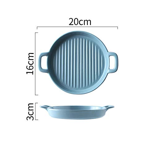 Baking Tray with Handle, Ceramic Plate, Oven Baking Tray, Risotto Dish, Dinner Plate, Salad Plate