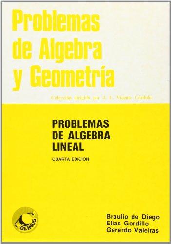 Problemas de álgebra lineal