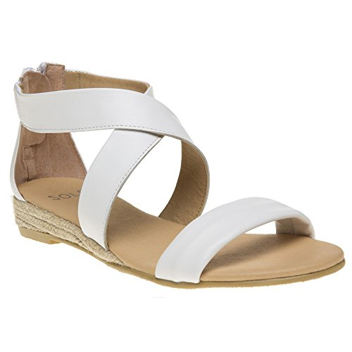 Sole Tansy Femme Sandales Blanc Blanc