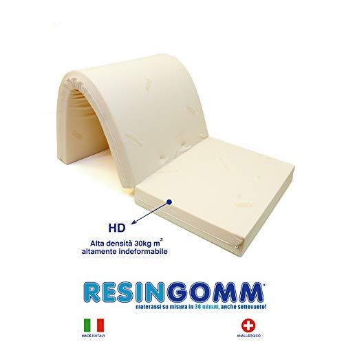 Materasso Matrimoniale per Divano Letto Prontoletto 160x190x10 in Alta Densità 30kg al m3 Tessuto Resistente Cotone 9 Fettucce per Ancoraggio Rigido Altamente Indeformabile. Produzione 100{021213424aeae01e3b27734b33cd2f89f2af288181c821c35960b9c8a28a85e9} Italiana.