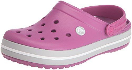 Crocs Crocband, Unisex Adults' Clogs – Purple (Viola/Light Grey), 3 UK Men/4 UK Women