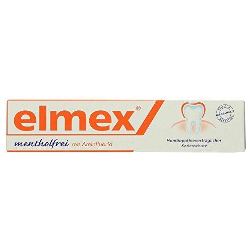 elmex mentholfrei Zahnpasta, 1er Pack (1 x 75 ml)