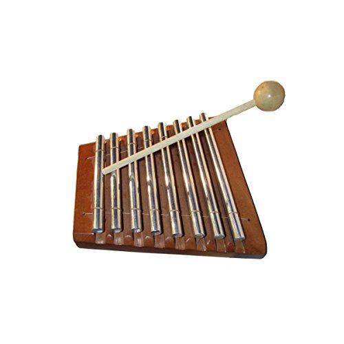 Geschnitzte Holz-akzente (Glockenspiel Xylophon Glocken Klang Holz Kinder Musikinstrument Spielzeug Rhythmus Percussion (Unbemalt))