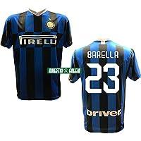 """MAESTRI DEL CALCIO Maglia Replica Ufficiale BARELLA 23"""" F.C. Inter 2019/2020"""