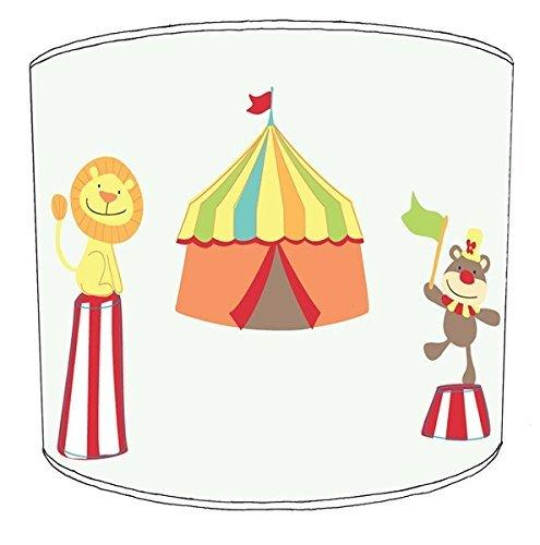 Premier Lampshades 30,5cm Tabelle Circus Print Childrens Lampenschirme6 (Lampenschirm Circus)