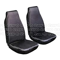 Autocare REDAC1886 Nylon Seat Cover Front Pair Car Van Protects From Dirt & Spills
