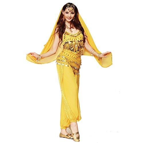 Bauchtanz-Kostüm-Set für Frauen