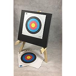 ASD mousse multicouches Cible de tir à l'arc avec support et 10Ѳ approuvés cibles
