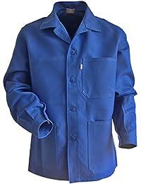 Veste Bleu De Travail 100% Coton Croisé Taille - Couleur : Bleu Bugatti - Taille : 2/S
