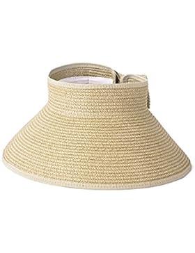 Vococal - Plegable Desmontable ala Grande Sombrero Sol de Playa con ala gran del Desmontable Plegable / Casquillo...