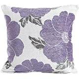 "Purple Poppy Cushion Cover 18"" x 18"""