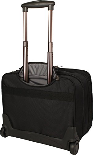 Franky BT6 2-Rollen Businesstrolley 44 cm Laptopfach schwarz