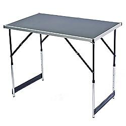 Klappbarer Multifunktionstisch Mehrzwecktisch Campingtisch Markttisch Tapeziertisch Beistelltisch