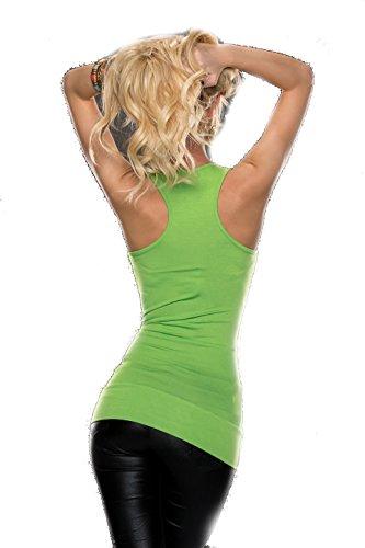 BT Style - Canotta - Basic -  donna Verde
