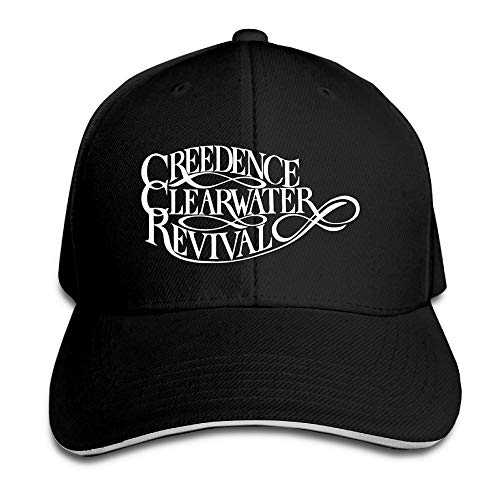 8bfca7bd5accc6 Creedence Clearwater Revival Rock Band Logo Sports Hat Sandwich Peaked Caps