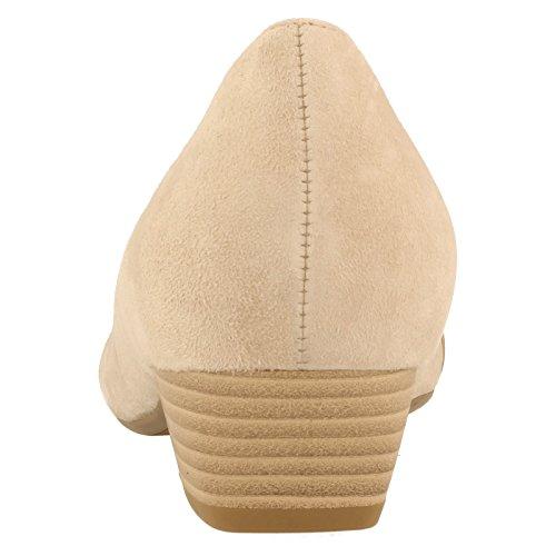 GABOR sHOES gABOR 45.135 escarpins femme-chaussures en matelas grande taille Beige/Visone