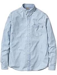 CARHARTT WIP - - Homme - Chemise en Denim Bleu Clair Civil Shirt pour homme
