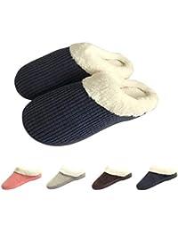 Bravover Pantofole da casa per Uomo Ultra-Leggero Confortevole e Antiscivolo  Ciabatte da Uomo per 10c2f6abf6f