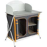 Ultrasport Cucina da Campeggio, Unisex adulto, Antracite/Arancio