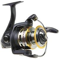 RUNATURE Carretes de Pesca de Lanzado 7+1 BB Peso Ultraligero Suave Poderosa Carrete de Pesca Spinning Jigging Feeder, Anti-Reversa