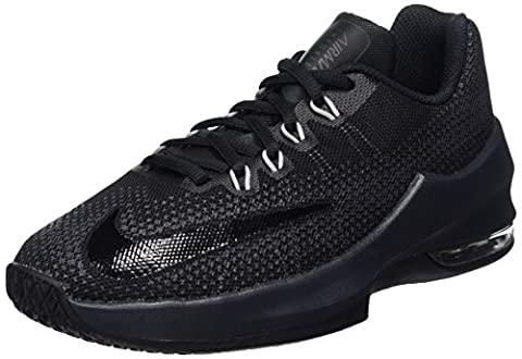 Nike Boys' Air Max Infuriate (Gs) Sneakers, Black (Black / Black / Anthracite / Dark Grey), 4 UK