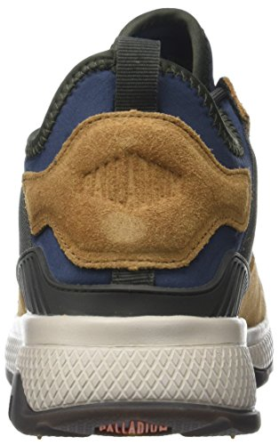 Palladium Axeon Army Runner, Baskets Homme Multicolore (Mood Indigo/Dusty Olive/B M58)