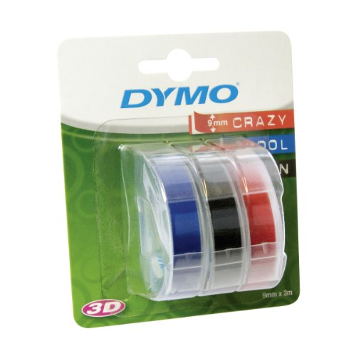 dymo-embossing-tape-self-adhesive-9-mm-x-3-m-assorted-colour-pack-of-3