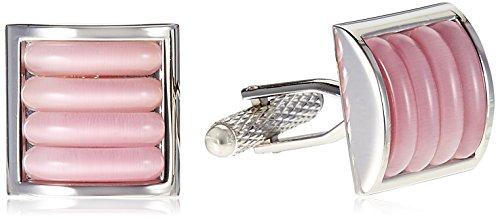 Alvaro castagnino Cufflinks for Men (Pink) (ALCF007)
