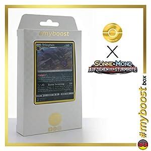 Trikephalo (Hydreigon) 62/111 Holo Reverse - #myboost X Sonne & Mond 4 Aufziehen Der Sturmröte - Box de 10 Cartas Pokémon Aleman